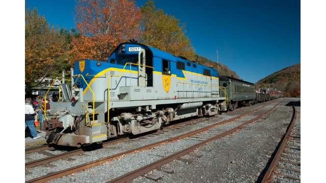 Delaware & Ulster Railroad Fall Festival 841