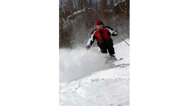 Skiing at Hunter Mountain 845