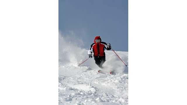 Skiing at Hunter Mountain 846