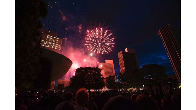 4th of July Fireworks at Empire State Plaza