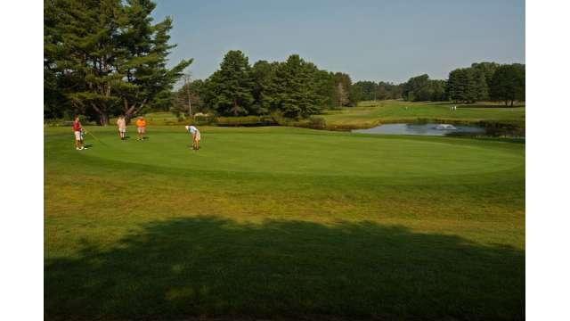 Saratoga Spa State Park Golf Course - 4th Hole, Signature Hole 1780