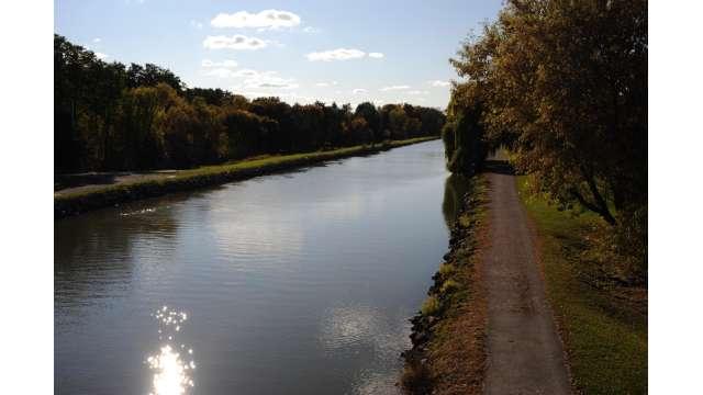 Erie Canal near Medina