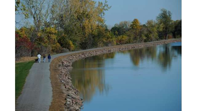 View of Erie Canal outside Gasport