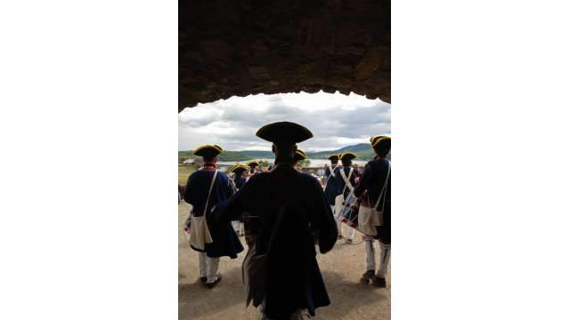 French & Indian War Encampment at Fort Ticonderoga 953