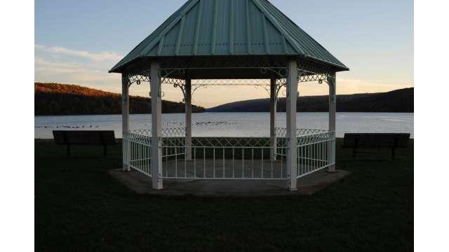 View of Hemlock Lake from Hemlock Lake Park