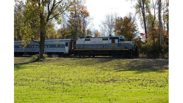 Medina Railroad Museum and Train Excursion