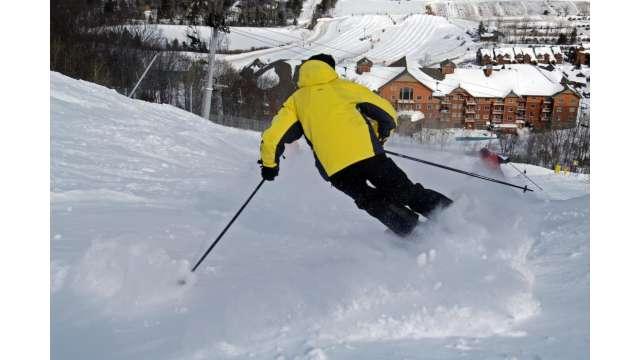 Skiing at Hunter Mountain 1125