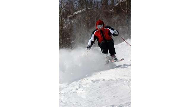 Skiing at Hunter Mountain 1127