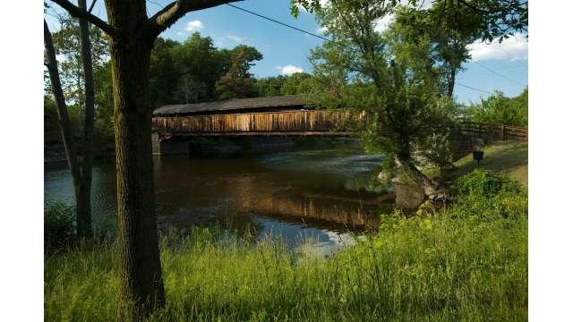 Perrine's Covered Bridge 1185