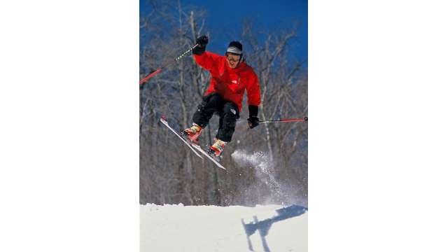 Skiing-Ski Plattekill-Catskills 1540