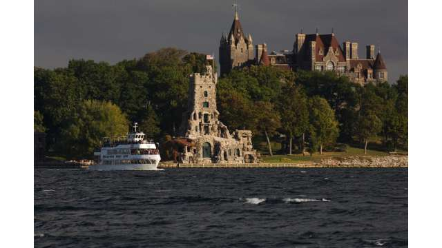 Boldt Castle on Heart Island and boat cruise 1566