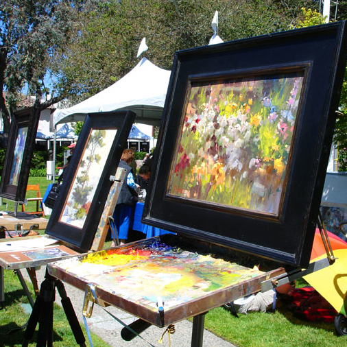 Carmel Art Festival @ City of Carmel-by-the-Sea Devendorf Park