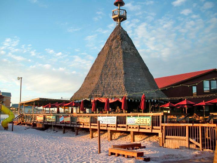 Sharky S Beachfront Restaurant And Tiki Bar