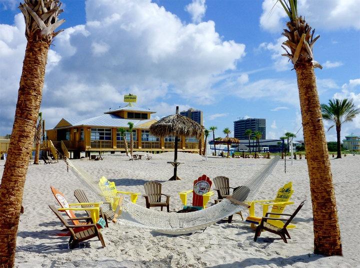 Landshark Landing Beach Bar Gulf Front Rooms Margaritaville Hotel Pensacola
