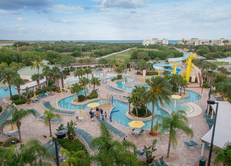 Holiday Inn Club Vacations Cape Canaveral Beach Resort Lazy River