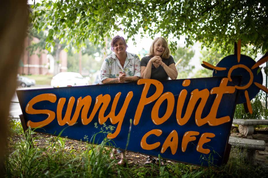 April Moon Harper & Belinda Raab | Sunny Point Café