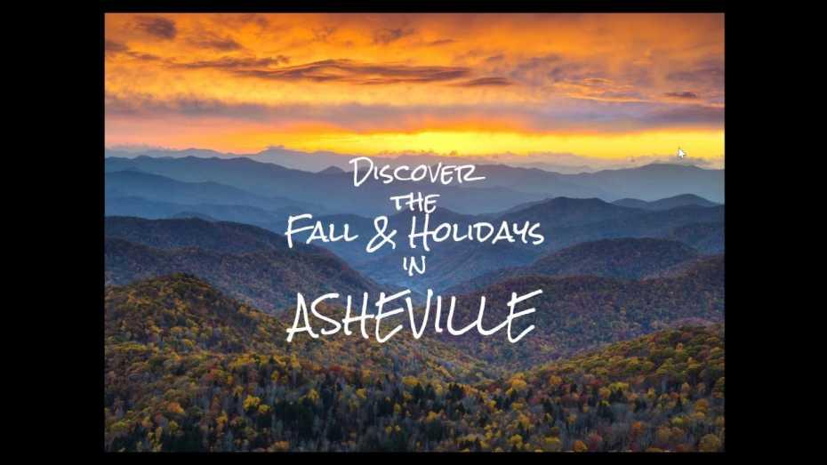 AAA Asheville Webinar - Fall & Holidays in Asheville