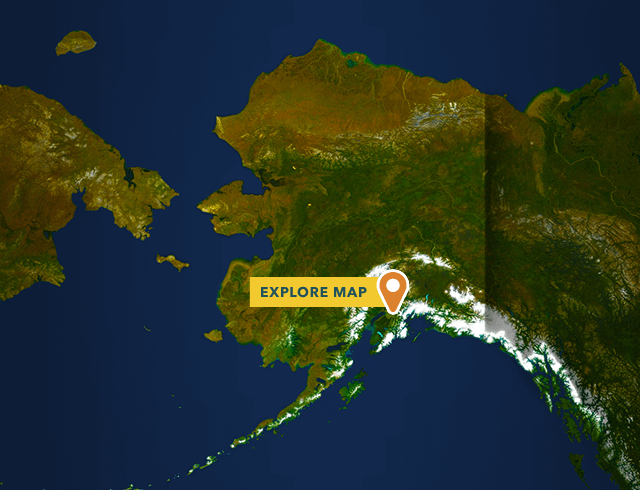 State of Alaska Map