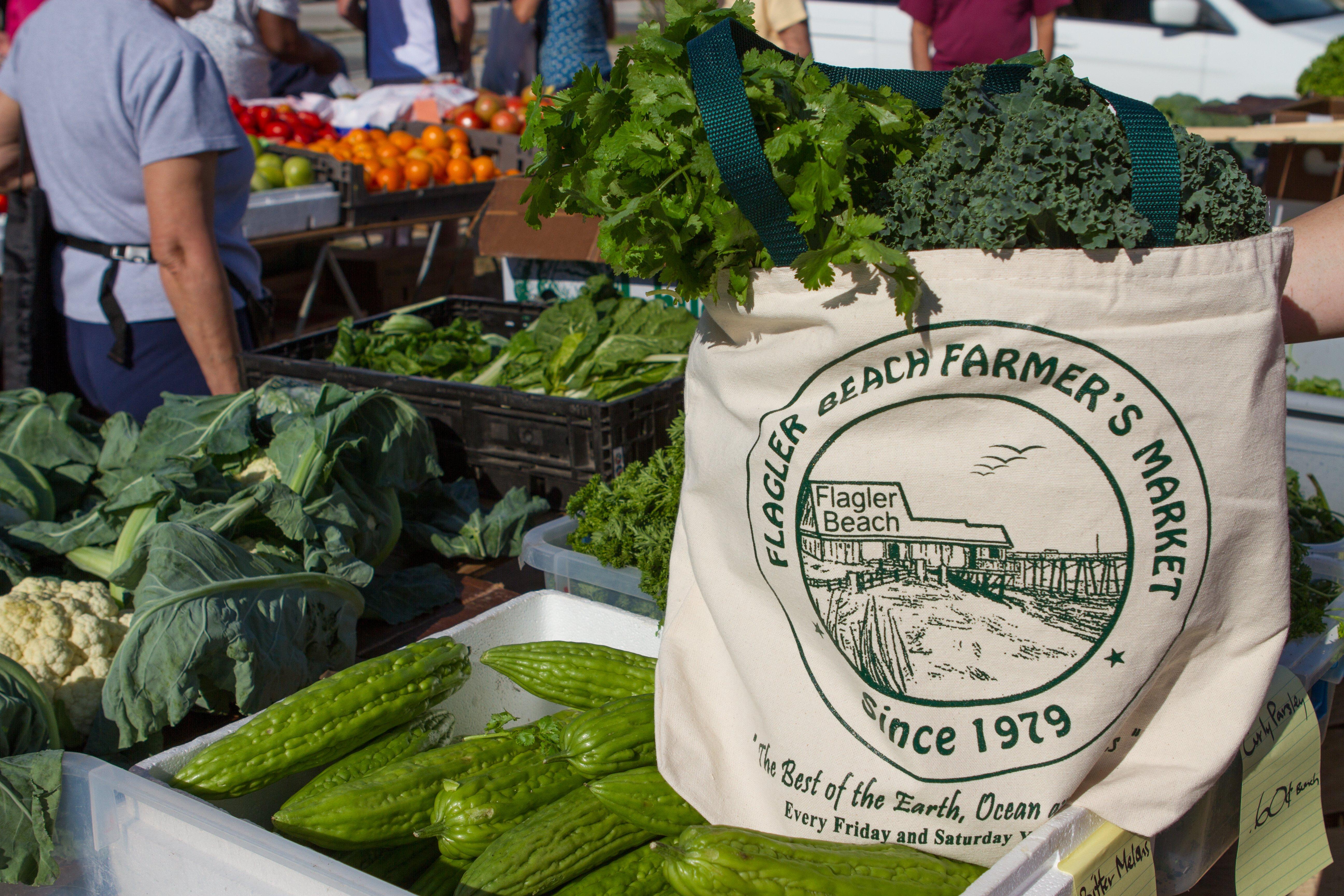 Produce at Flagler Beach Farmers Market