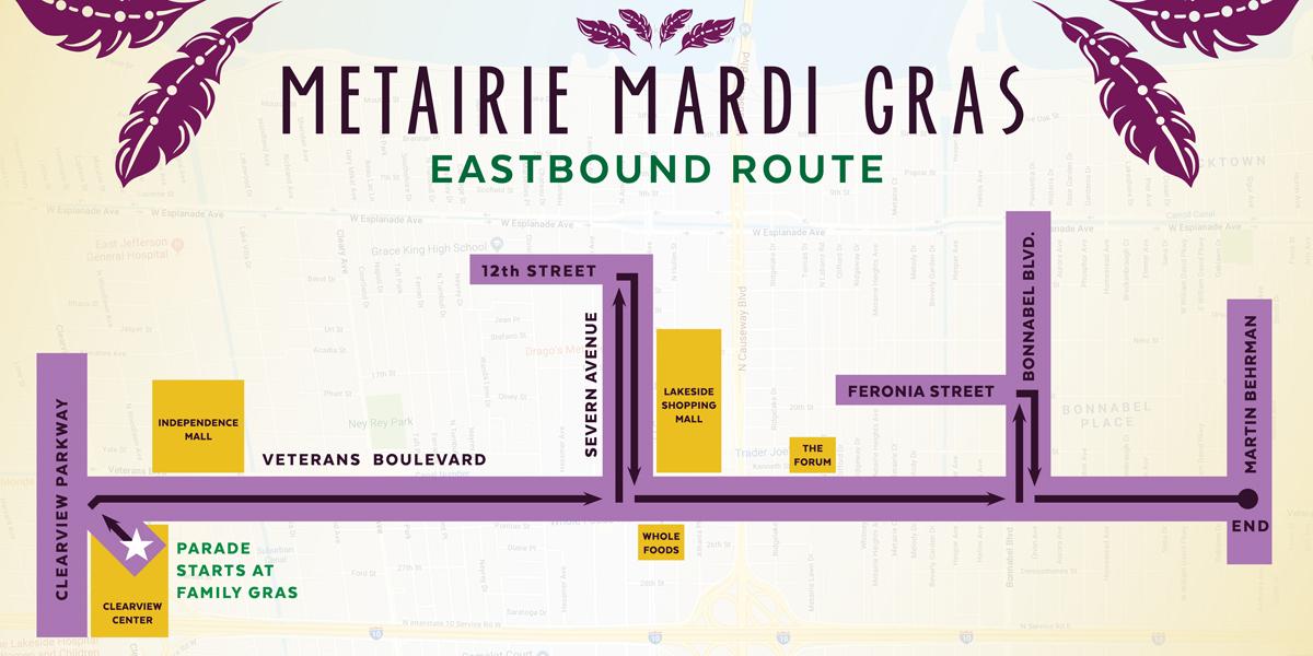 2019 Parade Routes