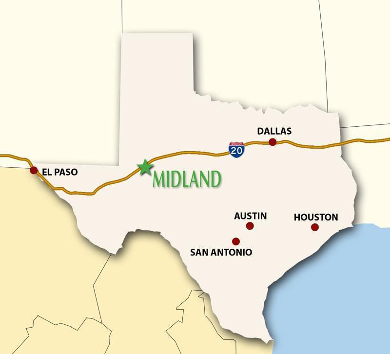midland texas area