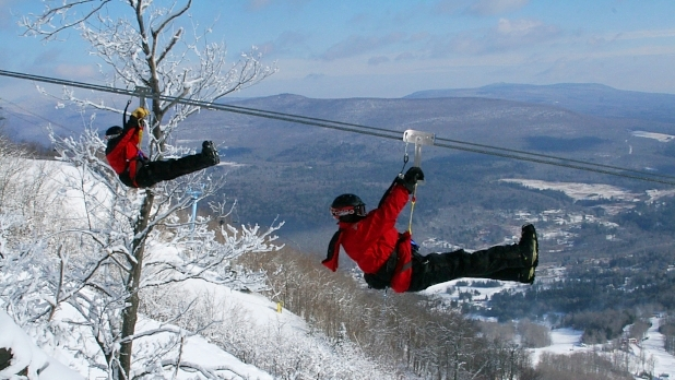 Hunter Zipline, Hunter Mountain