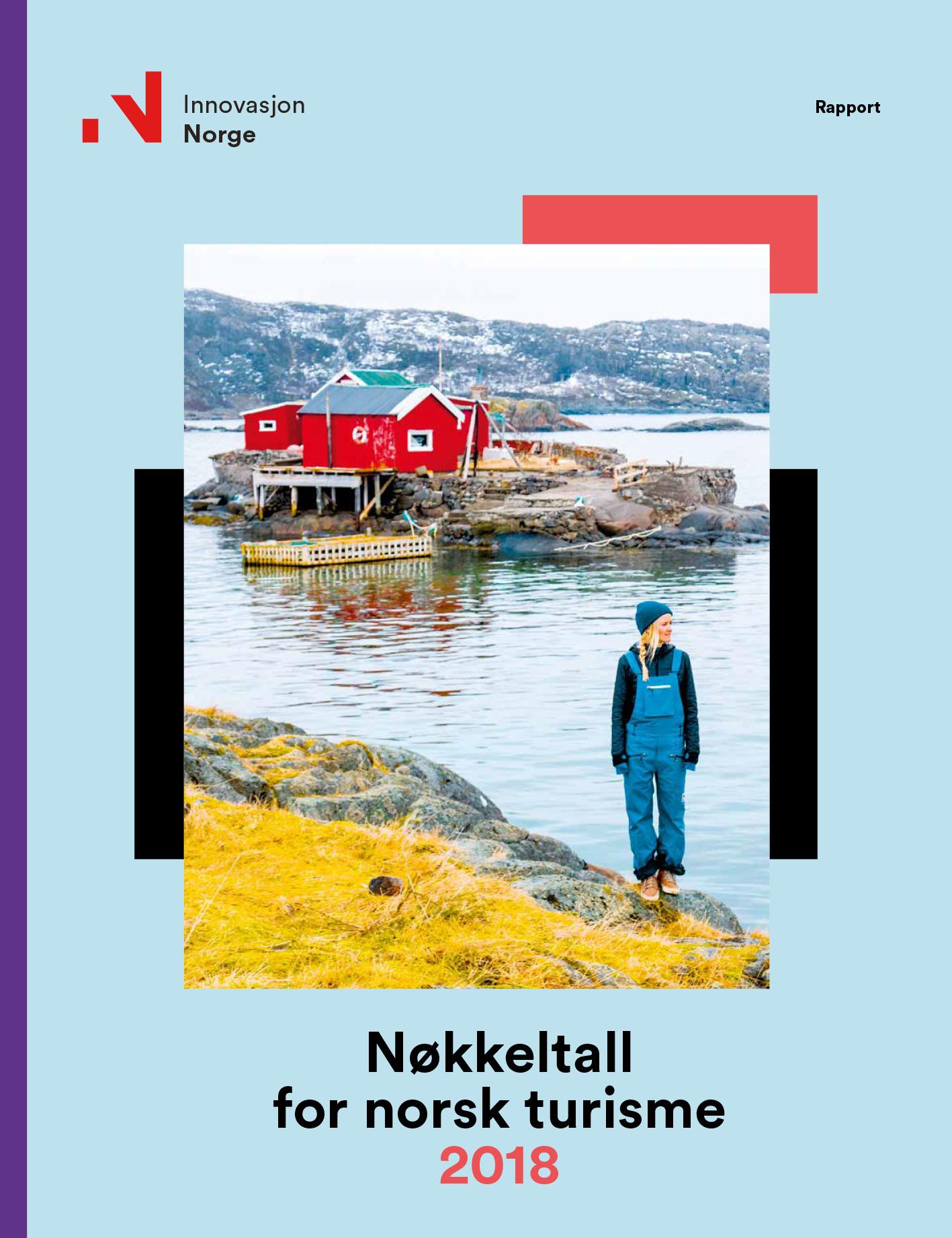 Nøkkeltall norsk turisme 2018