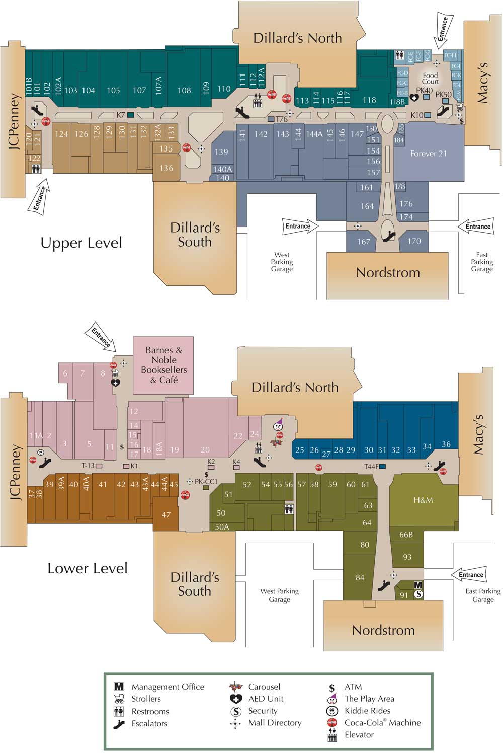 Oak Park Mall Map Visit Oak Park Mall in Overland Park, KS | Shopping, Dining & Fun Oak Park Mall Map